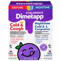 Dimetapp® Children's Cold & Cough and Nighttime Cold & Congestion Grape Flavor Medicine - 2 ct / 4 fl oz