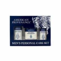 Natural Men's Gift Set; Aftershave - Firepits & Flannels