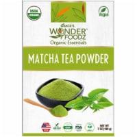 Grace's Wonder Foodz, Matcha Tea Powder - 7 oz-198 gms