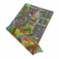 "Paradiso Toys Duo Play Carpet, 47.3""x 31.5"", Street side & Farm side PT02900 - 1"