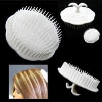 Deluxe Hair Shampoo Brush Scalp Clean Massage Massager Comb Head Care Salon New - 1