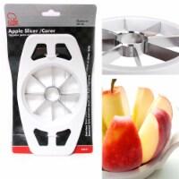 Stainless Steel Apple Slicer Cutter Corer Chopper Peeler Pear Fruit Easy Cut - 1