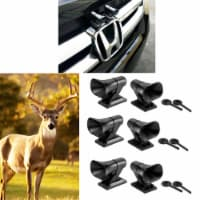 6X Deer Whistles Wildlife Warning Device Animal Sonic Alert Car Safety Accessory - 1