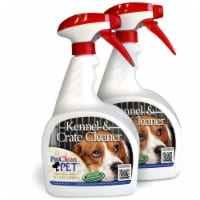 CWP ProClean Pet Kennel & Crate Cleaner™ 32 oz. Spray Bottle (2 Pack) - 32 Ounces