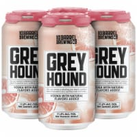 10 Barrel Brewing Greyhound Prepared Cocktails 4 Cans