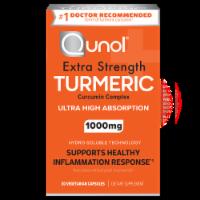 Qunol Turmeric Ultra High Absorption Vegetarian Capsules 1000mg