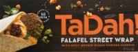 TaDah! Falafel Street Wrap with Harissa Hummus