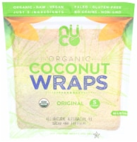 NUCO Organic Original Coconut Wraps