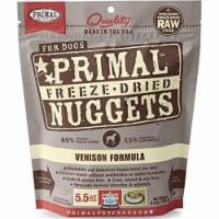 Primal Pet Foods PX00495 Canine Venison Freeze Dried Food, 5.5 oz - 1