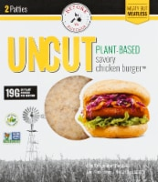 Before the Butcher Uncut Plant-Based Savory Chicken Burger