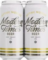Modern Times Mythic Worlds IPA Beer - 4 cans / 16 fl oz