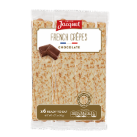 Jacquet French Chocolate Crepes 6 Count
