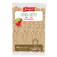 Jacquet French Strawberry Crepes 6 Count - 6 ct