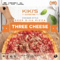 Kiki's Gluten Free Chicago-Style Three Cheese Deep Dish Pizza - 27 oz