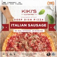 Kiki's Gluten Free Chicago Style Italian Sausage Deep Dish Pizza - 31 oz