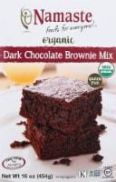 Namaste Foods Organic Gluten Free Dark Chocolate Brownie Mix