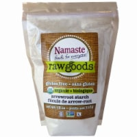 Namaste Foods  Raw Goods Organic Arrowroot Starch Gluten Free - 18 oz