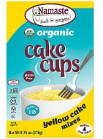 Namaste Foods  Organic Cake Cup Mix Packs Gluten Free   Yellow Cake