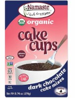 Namaste Foods  Organic Cake Cup Mix Packs Gluten Free   Dark Chocolate