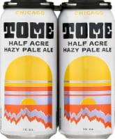 Half Acre Beer Company Tome Hazy Pale Ale - 4 cans / 12 fl oz