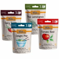 Millie's Sipping Broth 4 Flavor Assortment - 12 Count - 1