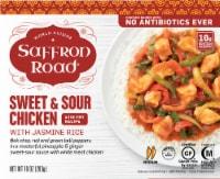 Saffron Road Sweet & Sour Chicken with Jasmine Rice Frozen Meal - 10 oz