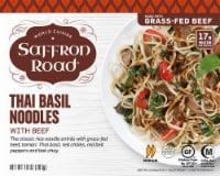 Saffron Road Thai Basil Noodles with Beef Frozen Entree