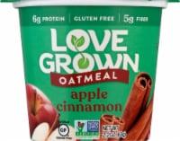 Love Grown Apple Cinnamon Hot Oats