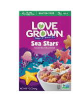 Love Grown Fruity Sea Stars Cereal