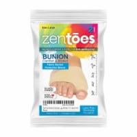 ZenToes Bunion Corrector and Bunion Relief Sleeve with Gel Bunion Pads - 1 Pair - Size Large