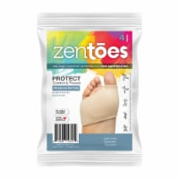 ZenToes Metatarsal Pad Sleeves for Women and Men - Ball of Foot Pain Relief Cushions - 2 Pair