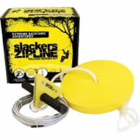 Slackers 524006 40 ft. Kids Zipline with Seat Kit