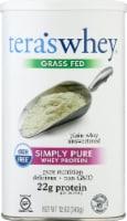 tera's whey Simply Pure Plain Unsweetened Whey Protein Powder - 12 oz