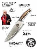 "Guy Fieri Knuckle Sandwich 8"" Chef's Knife - 8"" Chef knife"