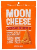 Moon Cheese Cheddar Believe It Crunchy Snacks - 2 oz