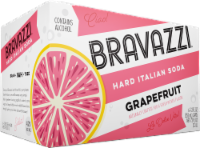 Bravazzi Grapefruit Hard Italian Soda