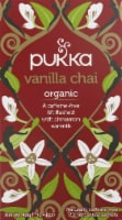 Pukka Vanilla Chai Herbal Tea Sachets