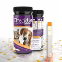 Coastline Global CheckUp Dog and Cat Urine Testing Strips for Detection of UTI 50 count - 1 unit
