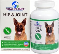 Vital Planet Hip & Joint Chicken Flavored Chewable Tablets - 60 ct