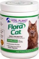 Vital Planet Flora Cat 20 Billion Daily Probiotic Powder