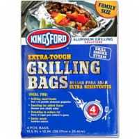 Trinidad Benham 233069 12.5 x 10 in. Kingsford Grilling Bags - Pack of 4