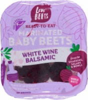 Love Beets White Wine + Balsamic Beets