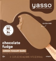 Yasso Chocolate Fudge Frozen Greek Yogurt Bars