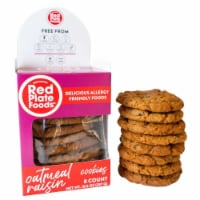 Red Plate Oatmeal Cookies
