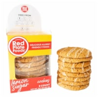 Red Plate Lemon Sugar Cookies - 8 ct / 10.5 oz