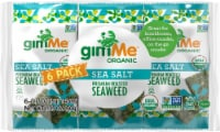 GimMe Organic Premium Sea Salt Roasted Seaweed Snacks
