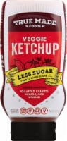 True Made Foods Less Sugar Veggie Ketchup