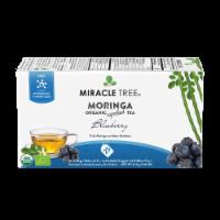 Organic Moringa Superfood Tea Blueberry -- 25 Tea Bags - 25 Tea Bags