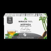 Organic Moringa Superfood Tea Earl Grey -- 25 Tea Bags