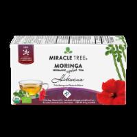 Organic Moringa Superfood Tea Hibiscus -- 25 Tea Bags - 25 Tea Bags